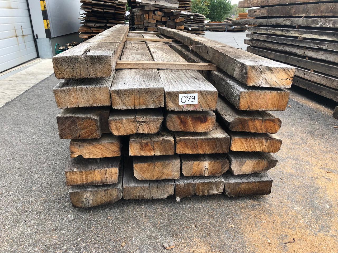 Eichen Altholz BLOCKWÄNDE   Royal Oak